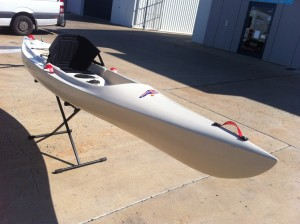 At home in the surf or on Flatwater